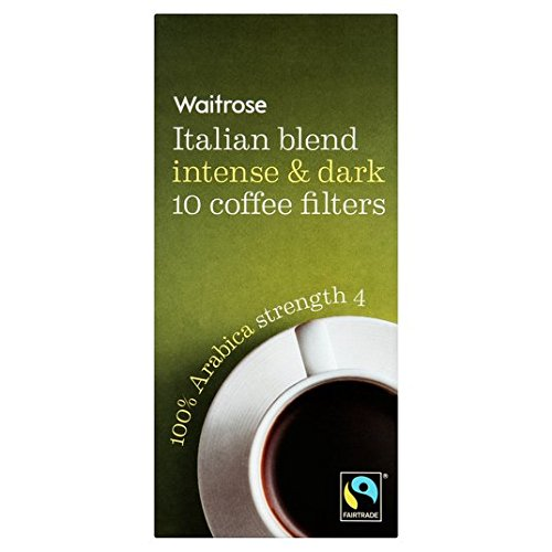 Italienischer Kaffee Filter Waitrose 10 pro Satz