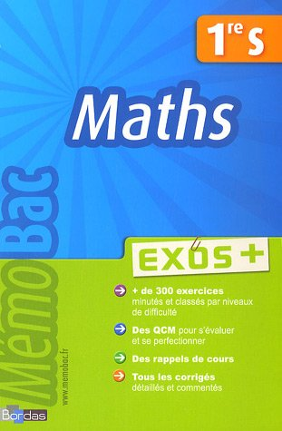 Maths 1e S : Exos +