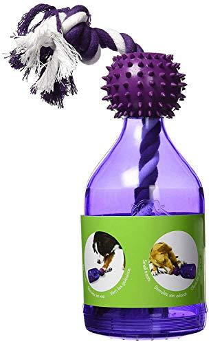PetSafe - Jouet pour Chien Busy Buddy Tug-a-Jug (M/L), Corde à tirer, Jouet Distributeur de Croquettes, Friandises - pour Chien Moyen et Grand