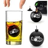 IGGI Drink Bomb Shots, Schwarz, Set 4, 25ml
