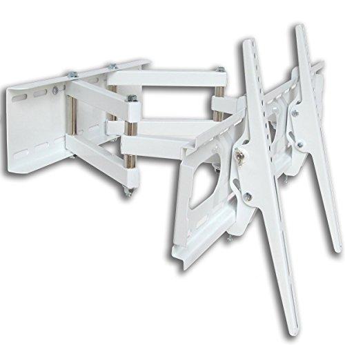 Fair Style Halterung weiß Doppelarm schwenkbar ausziehbar TV 55