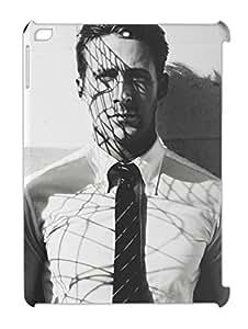 Ryan Gosling Black And White Portrait iPad air plastic case