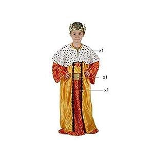Atosa-32131 Atosa-32131-Disfraz Rey Mago niño Infantil-Talla Color Surtido-Navidad, Multicolor, 3 a 4 años (32131)