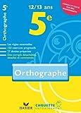 Chouette Orthographe 5e