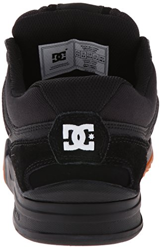 DC Skateboard Shoes STAG 2 WHITE/BLACK/ARMOR Black/Gum