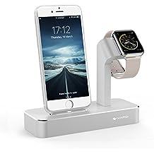 Supporti per Apple Watch, iVAPO 2 in 1 Stazione per