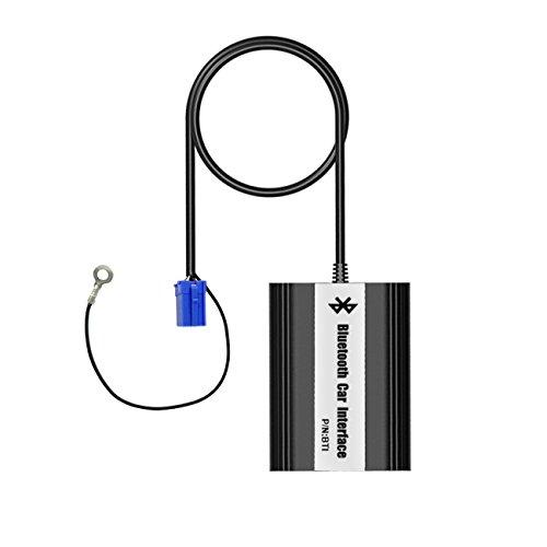 APPS2Car Audi Adaptateur Bluetooth Voiture Interface Autoradio Musical via Changeur CD Mains Libres AUX Chargement USB avec Micro / Télécommande pour A2 A3 A4/S4 A6/S6 A8/S8 AllRoad TT [Nouvelle Version]