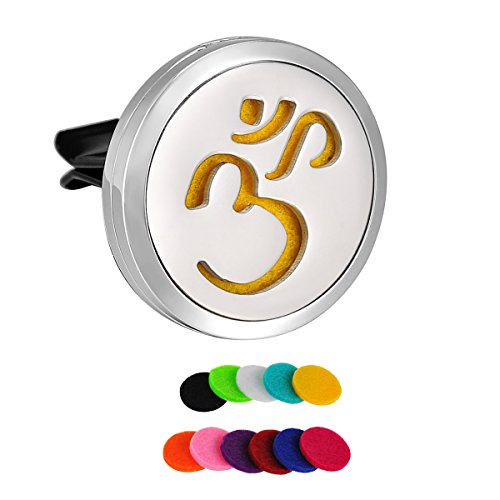 hooami-stainless-steel-ohm-om-aum-yoga-car-air-freshener-aromatherapy-essential-oil-diffuser-vent-cl