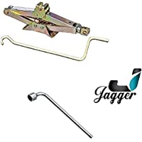 JAGGER Engineering Car Scissor Jack (Capacity 2000Kg), SWIFT, BALENO, I20, I10, HONDA CITY, ALTO, CRETA, BREEZA, VERNA, SCORPIO, XUV, THAR, ALL INDIAN CARS