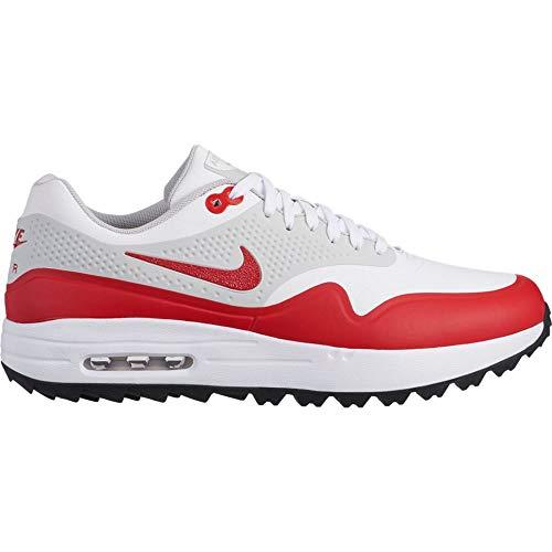 Nike Herren Air Max 1 G Golfschuhe, Weiß (Blanco 100), 42.5 EU