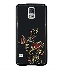 Fuson Premium 2D Back Case Cover Animated Heart with Multi Background Degined for Samsung Galaxy S5 Mini::Samsung Galaxy S5 Mini G800F