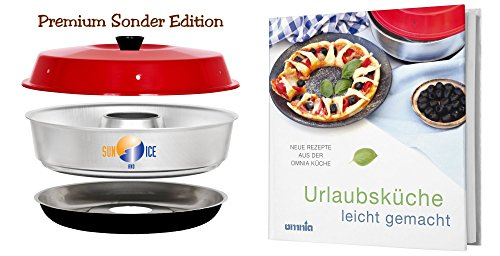 Omnia Spar-Set Backofen Premium Edition plus Kochbuch
