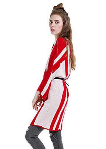 Insun - Gilet - Femme Red