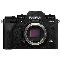 FUJIFILM X-T4 Systemkamera (26,1 Megapixel,  X-Trans CMOS 4 Sensor, 7,6 cm (3 Zoll) Touch-LCD), schwarz
