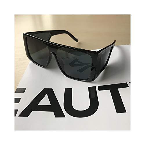 WJFDSGYG Sonnenbrille Männer Frauen Sonnenbrille Mann Maske Vollformat Goggle Black Shield Sonnenbrille