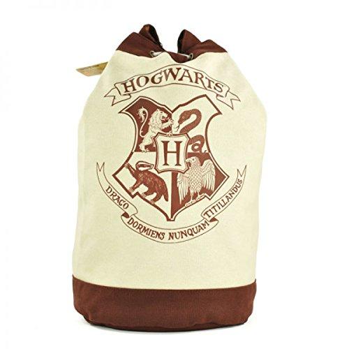 harry potter case hogwarts scuola cresta distintivo emblema ufficiale duffle bag sacco