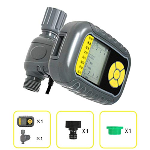 FLAMEER LCD Digital Wasser Timer Bewässerunguhr Bewässerungscomputer für Außen Bewässerung
