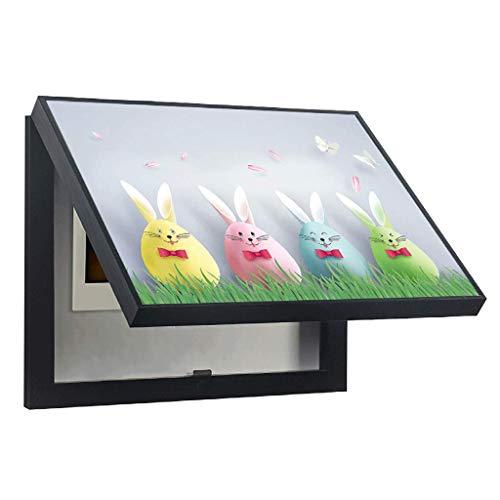 LITING Caja de medidor eléctrico Cuadro de distribución de Pintura Decorativa Caja...