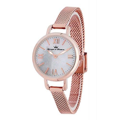 Reloj Yonger & Bresson Mujer Nácar blanca–DMR 051/BM–Idea regalo Noel–en Promo