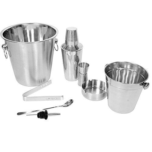Kosma Conjunto 5 Cocktail Set | Acero Inoxidable Barware