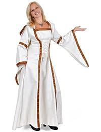Déguisement robe médiévale elfique femme - Premium