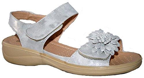 Cushion Walk , Sandales pour femme silver