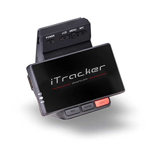 iTracker Stealthcam-GPS Autokamera mit Full HD GPS Dashcam, 15Mbit/s Bitrate Dash-Cam Ge-s-video