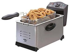 Palson-Deep fryer Fry Plus 3 l Silver