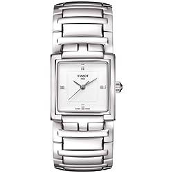 Tissot Women's Quartz Watch T- Evocation T051.310.11.031.00 with Metal Strap