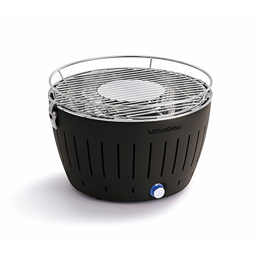 lotus grill bbq in grey with free lighter gel & charcoal