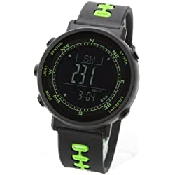 [LAD WEATHER] Swiss Sensor Chronograph Outdoor Digital Compass Altimeter Sports Watches Weather Forecast Climbing/Walking/Running/ Barometer Thermometer Men's