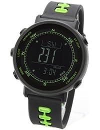 [LAD WEATHER] Sensore svizzero Altimetro Barometro Bussola digitale Termometro Previsioni meteorologiche Corsa Alpinismo A piedi Orologio da polso