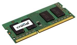 Crucial Module de mémoire 2 Go DDR3 PC3-10600 SODIMM 204 broches