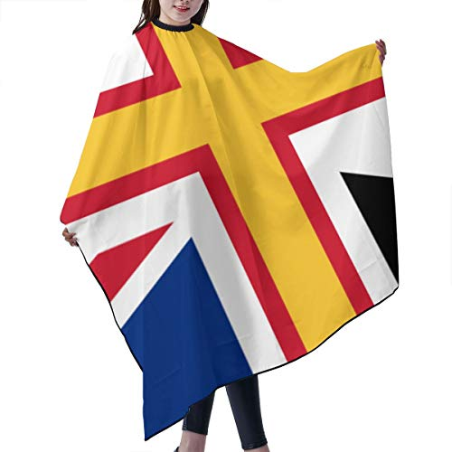 Barber Cape,Union Jack With Wales Salon Polyester Cape Haircut Apron 55