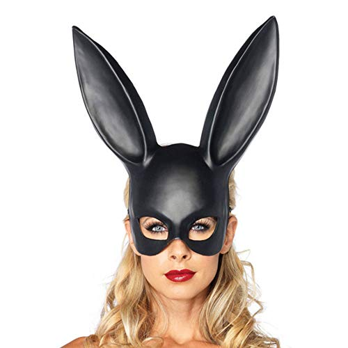 XUEQIN 3 STÜCKE Maskerade Maske Kaninchen Maske Bunny Maske Geburtstagsfeier Ostern Halloween Kostüm Zubehör Party Dekoration ()