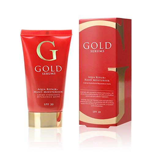 GOLD SERUMS Crème Réparatrice Mains SPF20 50 ml