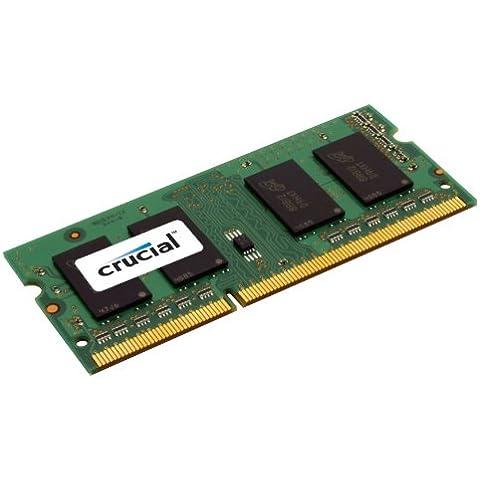 Crucial - Memoria RAM de 1 GB (DDR2, 800 MHz)