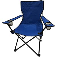 HOMECALL Foldable Camping Chair with Cupholder And High Backrest