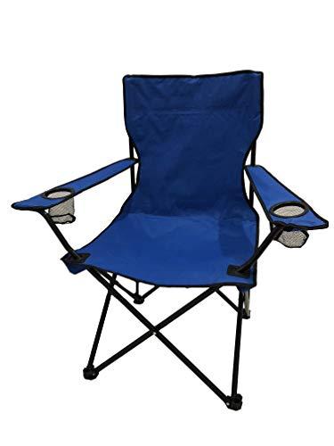Homecall - Sedia da campeggio, colore: blu