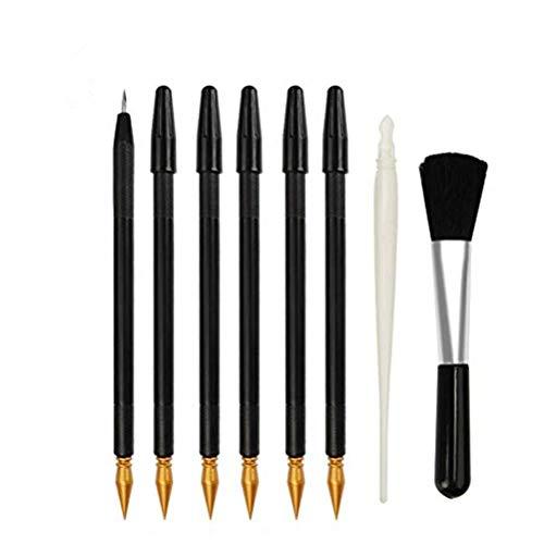 SUPVOX Scratch Stift Malerei Zeichnung Kunst Tools Stick Schaber Scratch Skizze Kunst Malerei 8 Stück -