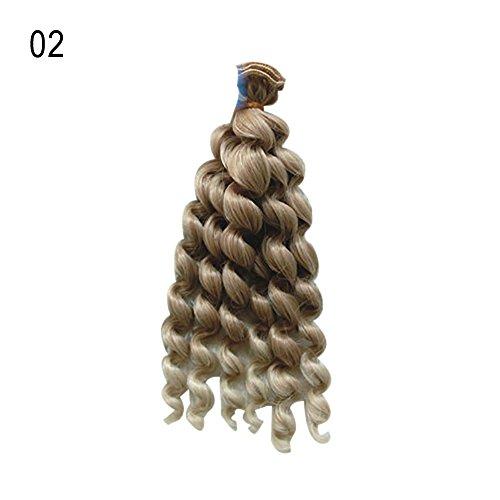 MAJGLGE Madgle, 20 cm, schöne Ringelblume mit gelocktem Haar, Spielzeug für Kinder, Geschenk für Barbie SD BJD Puppe - 20 Stück 02