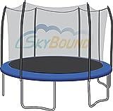 SkyBound Trampoline Net Fits Round 12ft ...