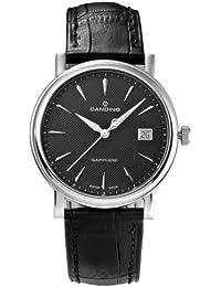 6eb59d06a6d8 Candino C4487 3 - Reloj analógico de Cuarzo para Hombre con Correa de Piel