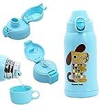 Termo Botella, Multipropósito Botella de Agua Térmica Para Niño, Para en  el Hogar y al Aire Libre, Sin BPA, 600ml, Perro Azul