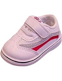 K-youth Zapatos De Bebé 0-18 Mes Botines Zapatillas de Deporte Unisex Niños Infantil Zapatos Bebe Niño Primeros Pasos Antideslizante Bebé Recien Nacida Zapatos Bebe Niña Bautizo