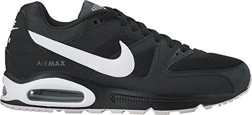 Nike Herren Men's Nike Air Max Command Shoe Hallenschuhe Mehrfarbig (Black/White-Cool Grey)