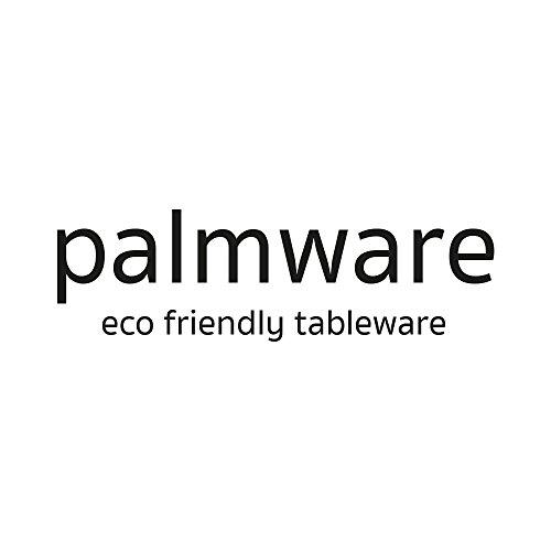 Umweltfreundliches Einweggeschirr aus Palmblättern von kaufdichgrün | 25 Stück Palmblatt Schale rund 425ml Ø15cm | Salat-Schüssel Dipschalen Suppenschale Servierschale Snackschale Einwegschale - 6