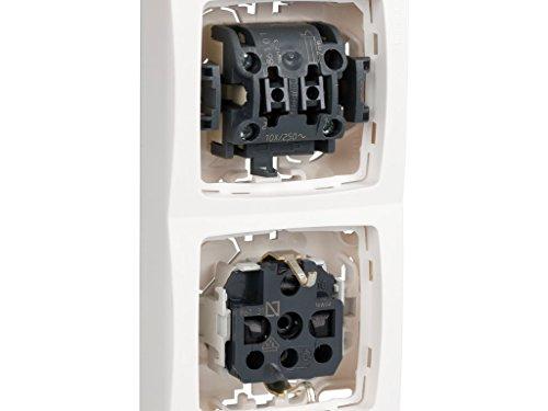 legrand 664529P3 Bases de enchufe individuales 230 V Blanco Set de 3 Piezas