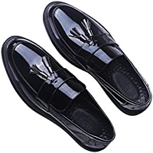 Amazon.it  Mocassino Uomo Elegante - Nero cc57b81c532