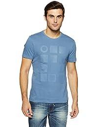 LP Jeans By Louis Philippe Men's Solid Slim Fit T-Shirt - B07DSXYL9M